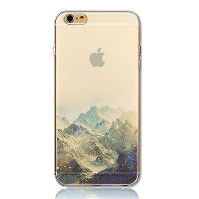 Deco Fairy iPhone 6 / 6s Silicone Rubber Flexible Case Cover - Nature Scenery Snow Mountain The Alps Nature Love  Landscape
