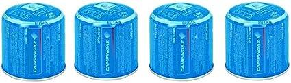 DC Campingaz C206 GLS Super 216 Lote de 4 Cartuchos de Gas - butano y propano - 190 g