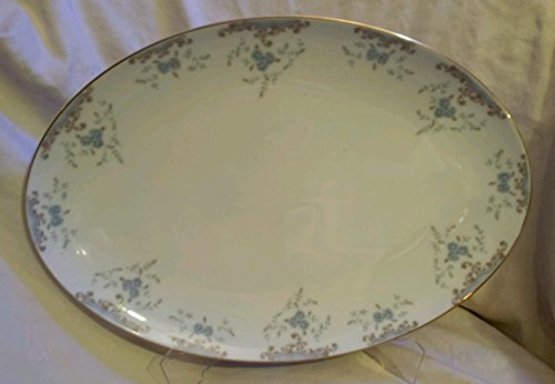 "Imperial China designed by W Dalton Seville 16 1/2"" Oval Serving Platter"