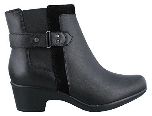 Women's Clarks, Malia Maui Ankle Boot BLACK 7.5 M (Clarks Womens Shoes Boot)