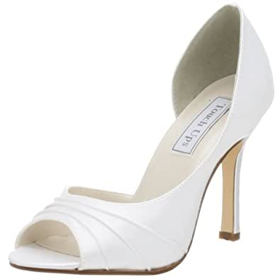 Touch Ups Women's Flash Dyeable Pump,White,5 M