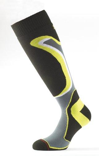 1000 deporte invierno de para amarillos de Mile Calcetines negros hombre xqYvtwn5