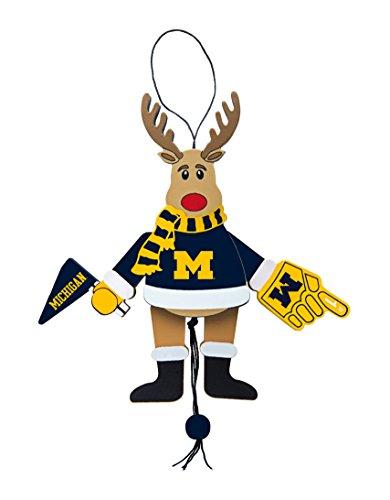 Michigan Wolverines Brown Football - 9