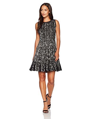 NIC+ZOE Women's Petite Boulevard Twirl Dress, Multi, (By Zoe Dress)