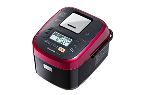 Panasonic W dance cook steam & variable pressure IH jar rice machine 1.0L 0.5 ~ 5.5 Go Rouge Black by Panasonic