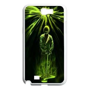 Samsung Galaxy N2 7100 Cell Phone Case White Batman Riddler Poster Q4O7JD