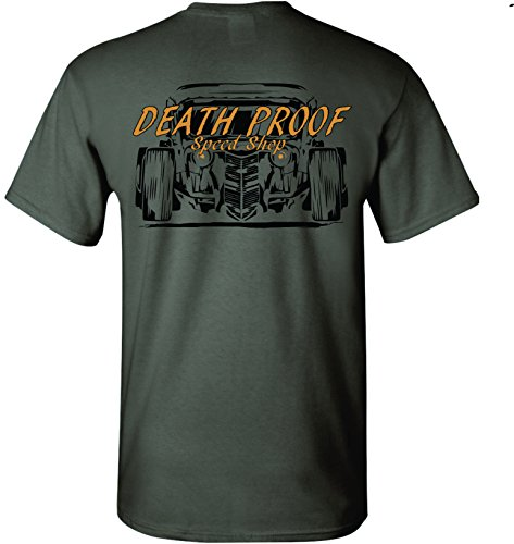 Death Proof Industries Speed Shop T-Shirt Tee (Small, for sale  Delivered anywhere in USA