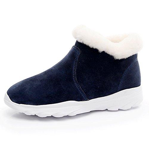 Neige Hiver Raquettes Chaussures Couleur Bleu Bottes Femmes Color 36 sxorCthQdB
