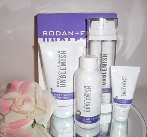 Rodan and Fields Unblemish Regimen for Acne and Post Acne Marks, Kit
