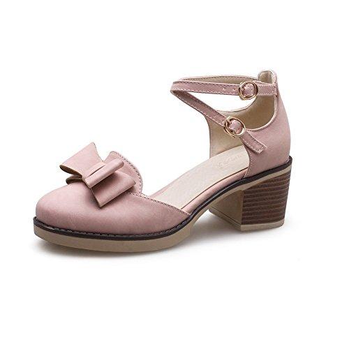 EU Femme BalaMasa 36 Sandales Compensées 5 Rose Rose xSxqZ4P6w