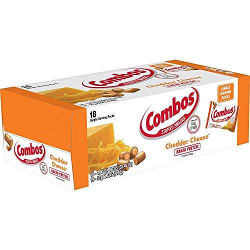 A Product of Combos Cheddar Flavor Pretzels (18 ct.)