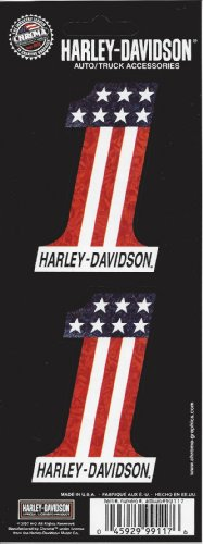 Harley Davidson #1 American Flag ()