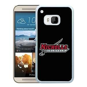 NCAA Nicholls State Colonels 05 White Popular Custom Design HTC ONE M9 Phone Case