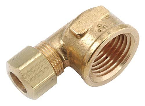 Low Lead Brass Female Elbow, 3/8