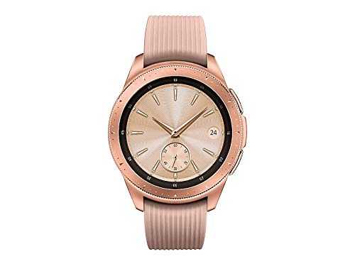 Samsung - Galaxy Watch Smartwatch 42mm Stainless Steel LTE SM-R815UZDAXAR GSM Unlocked - Rose Gold