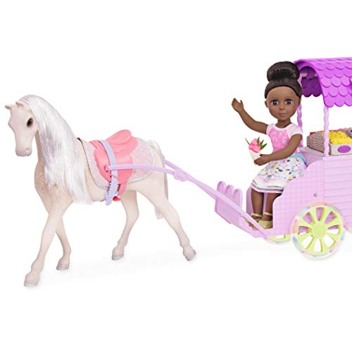 Glitter Girls by Battat - Flower Carriage for 14-inch Dolls - Toys, Clothes and Accessories For Girls 3-Year-Old and -