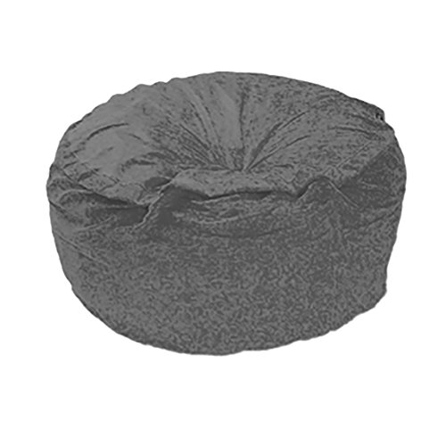41F3Q7J14IL - Gone-Bananas-Lounging-Bean-Bag-Chair-6-Foot-Diameter-XXL-Charcoal