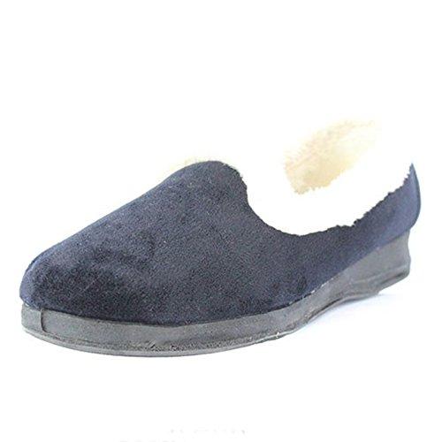 Heavenly Feet , Damen Hausschuhe Blau