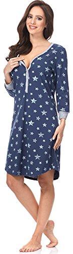 Comet Camicie Scuro Blu Allattamento Bianco 0111 Italian Notte IF per da Fashion HnZ707