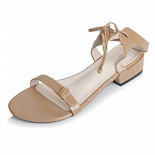 Sangle Chaussures Roman NSX Ruban Kaki Plates Chaussures de Fées Attaché Sauvage qxdBdY4rWn