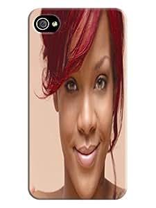 Custom Lightweight Waterproof popular Rihanna fashionable TPU Protector Cover for iphone 4/4s