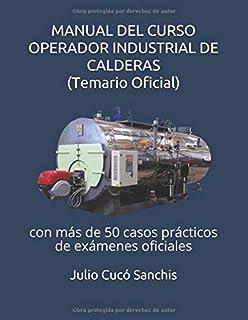 MANUAL DEL CURSO OPERADOR INDUSTRIAL DE CALDERAS (Temario Oficial): con más de 50…