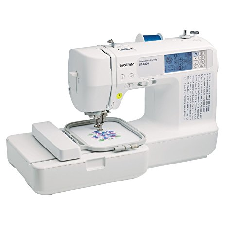 Brother Computerized Sewing and Embroidery Machine - LB6800