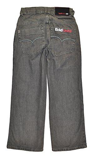 ecko unltd. Big Boys' Jeans, Grey, 8 Joker Jeans