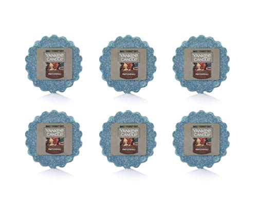Yankee Candle Lot of 6 Patchouli Tarts Wax Melts (Patchouli)