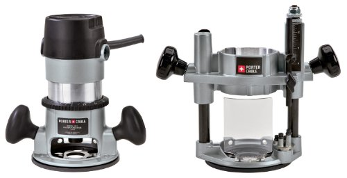 (PORTER-CABLE 693LRPK 1-3/4 HP Fixed Router and Plunge Base Kit )
