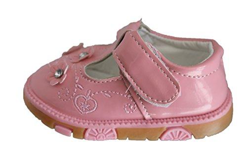 infinity shoes-ballerine babies à scratch-rose clair-bébé fille