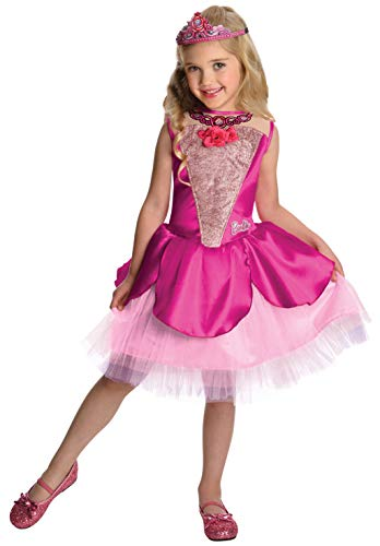 Barbie in The Pink Shoes Deluxe Kristyn Costume, Toddler 1-2]()