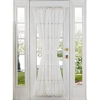 Stylemaster Home Products Elegance Voile Door Panel 60 by 72-Inch Beige