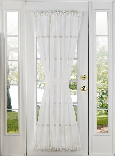 lace door panel curtains - 5