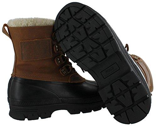 Duck Tan Black Polo Boots Shearling Mens Ralph Lauren Landen FX7a0O