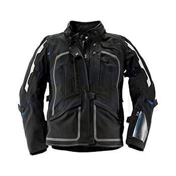SCHOELLER gray sz L BMW motorcycle jacket zip off sleeves