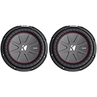 (2) Kicker 43CWR104 10 Dual Voice Coil 4-Ohm Car Stereo Subwoofers Totaling 1600 Watt
