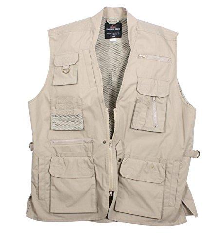 Rothco Plainclothes Concealed Carry Vest/4X, KHAKI -