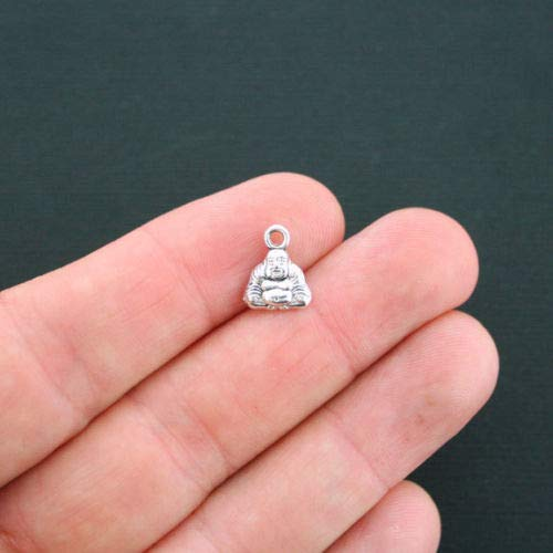 Charm - Jewelry - Pendant - Buddha 15 pcs