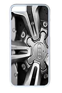 Iphone 6 Plus Case, Audi R8 V10 5 2 Fsi Coupe Wheel Design PC Black Case for Iphone6 Plus 5.5inch