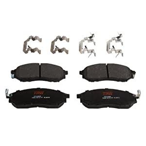 TRW TPC0888 Premium Ceramic Front Disc Brake Pad Set