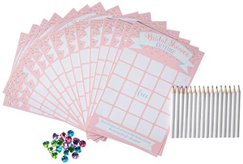 Deluxe Bridal Shower Bingo Game