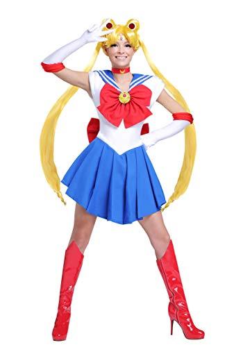 Sailor Moon Halloween Outfit (Adult Sailor Moon Costume Women's Sailor Moon Costume)