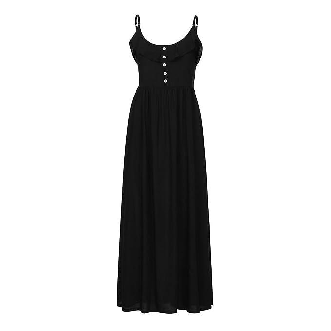Amazon.com: Diana s Vestido de mujer, halter Casual sin ...