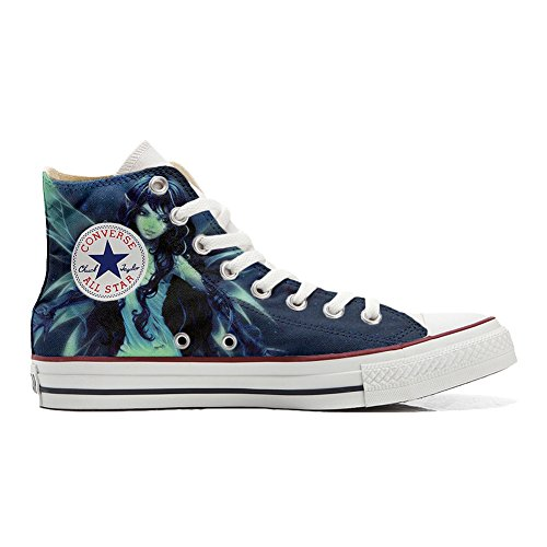 Shoes Custom Converse All Star, personalisierte Schuhe (Handwerk Produkt) Elfo