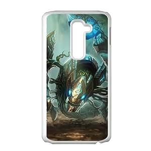 LG G2 Cell Phone Case White League of Legends Earthrune Skarner VA2513832