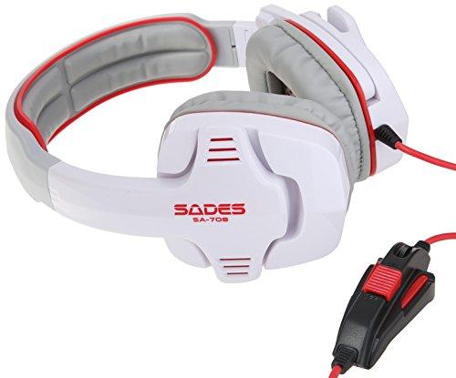 SA 708 Stereo Gaming Headset Microphone Pc