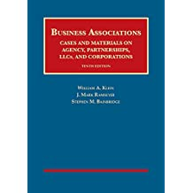 Business Associations, Cases and Materials on Agency, Partnerships, Llcs, and Corporations (University Casebook Series)