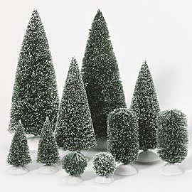 Department 56 Village Trees and Topiaries