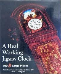 A Real Working Clock 600 Piece Jigsaw Puzzle